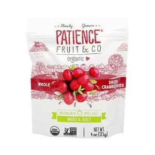 PATIENCE CRANBERRIES SWEETENED WITH JUICE