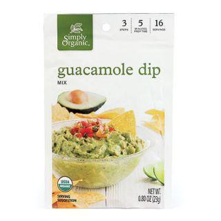 SIMPLY ORG GUACAMOLE DIP MIX