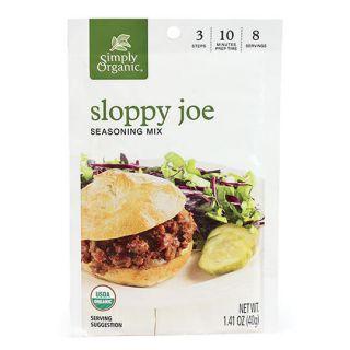 SIMPLY ORG SLOPPY JOE