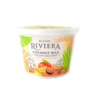 RIVIERA COCONUT DELIGHT YOGURT MANGO PASSION FRUIT