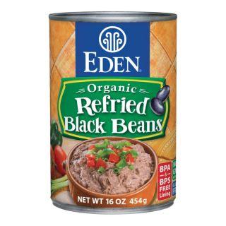 EDEN ORGANIC REFRIED BLACK BEANS
