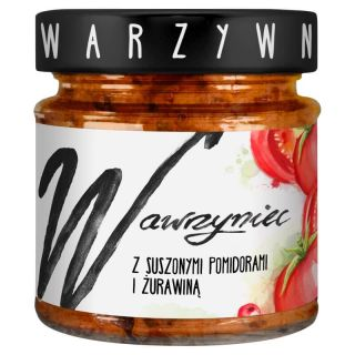 WAWRYNIEC VEGGIE PATE WITH DRIED TOMATOES & CRANBERRIES