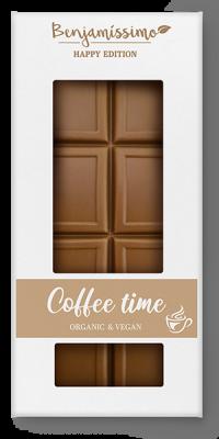 BENJAMISSIMO COFFEE TIME CHOCOLATE BAR