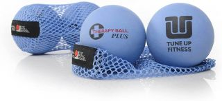 TUNE UP FITNESS THREAPY BALL BLUE SET OF TWO