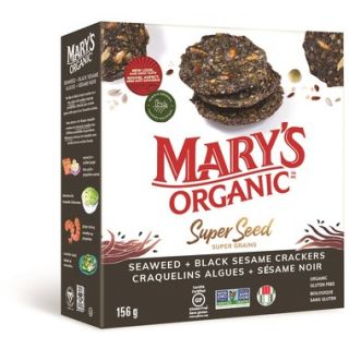 MARY'S CRACKERS SEWEED BLACK SESAME