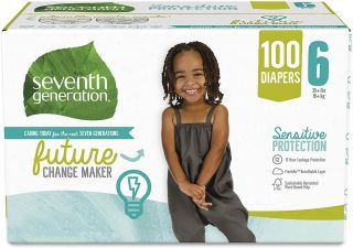 SEVENTH GENERATION DIAPERS 6