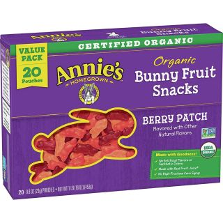 ANNIES BERRY PATCH FRUIT SNACKS ORGANIC