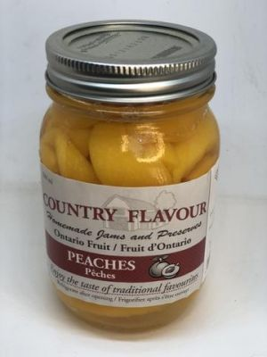 COUNTRY FLAVOUR PEACHES