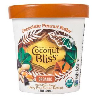 COCONUT BLISS CHOCOLATE PEANUT BUTTER ICE CREAM