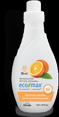ECO MAX NATURAL ORANGE LAUNDRY WASH