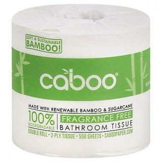 CABOO BATHROOM TISSUE SINGLE ROLL