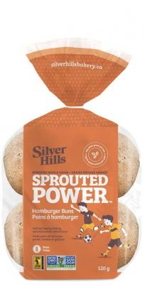 SILVERHILLS SPROUTED BURGER BUNS