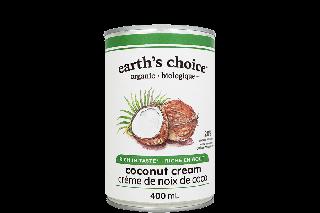 EARTH'S CHOICE COCONUT CREAM