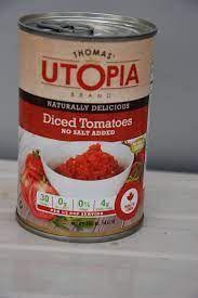 THOMAS UTOPIA DICED TOMATOES