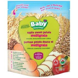 BABY GOURMET APPLE SWEET POTATO MULTIGRAIN BABY CEREAL