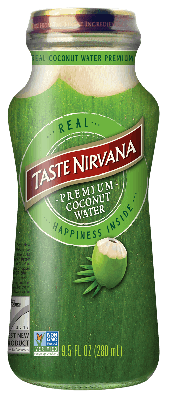 TASTE NIRVANNA REAL COCONUT WATER WITH PULP