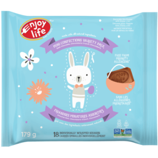 ENJOY LIFE MINI EASTER BUNNY CONFECTIONS VARIETY PACK