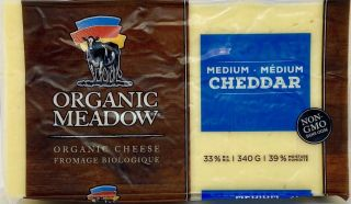 ORGANIC MEADOW CHEDDAR CHEESE BLOCK MEDIUM