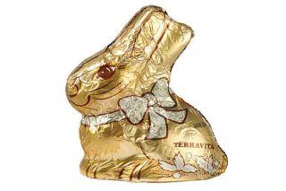 TERRAVITA CHOCOLATE BUNNY GOLD