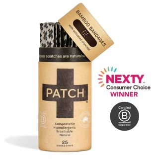PATCH NATURAL BANDAIDS WITH ACTIVATED CHARCOL