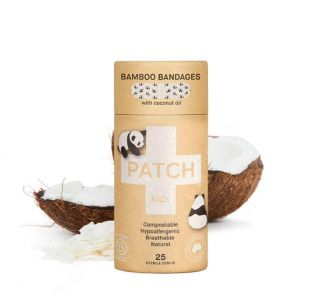PATCH NATURAL BANDAIDS WITH COCONUT OIL