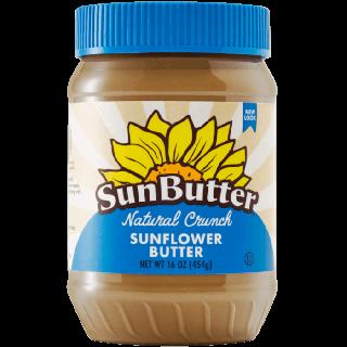 SUNBUTTER SUNFLOWER BUTTER CRUNCHY