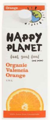 HAPPY PLANET VALENCIA ORANGE JUICE