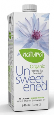 NATUR-A SOY BEVERAGE UNSWEETENED