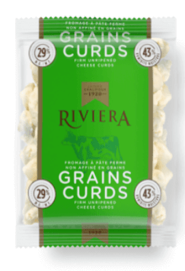 RIVIERA CHEESE CURDS FIRM URIPPENED