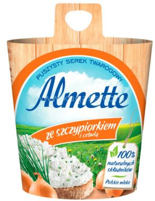 ALMETTE CREAM CHEESE ONION