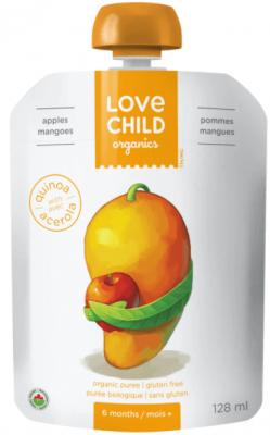 LOVE CHILD APPLES AND MANGO ORGANIC PURE