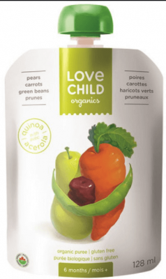 LOVE CHILD PEAR CARROT&PRUNE