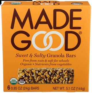 MADE GOOD SWEET & SALTY GRANOLA BAR SINGLE