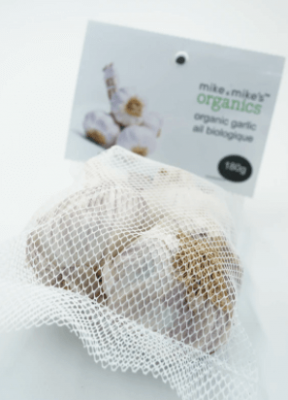 MIKE AND MIKES ORGANIC GARLIC