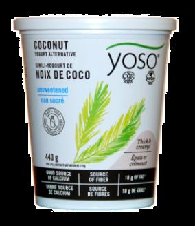 YOSO CULTURED COCONUT YOGURT UNSWEETENED