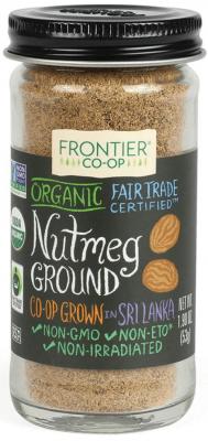 FRONTIER ORG GROUND NUTMEG
