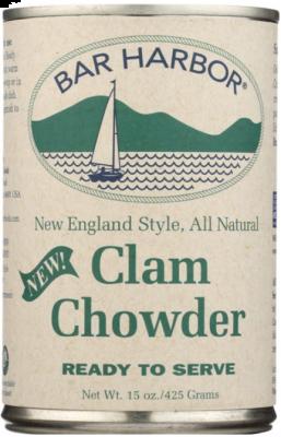 BAR HARBOR NEW ENGLAND STYLE CLAM CHOWDER
