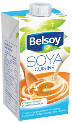 BELSOY CUISINE CREAMY SOYA PREPARATION FOR COOKING