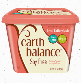 EARTH BALANCE SPREAD SOY FREE