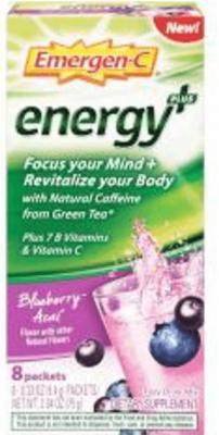 EMERGENC ENERGY BLU ACAI SINGL