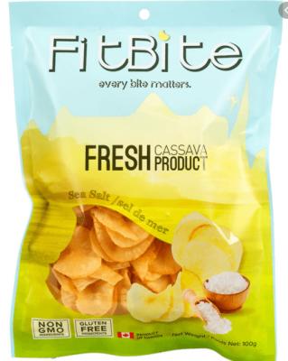 FITBITE FRESH CASSAVA CHIPS