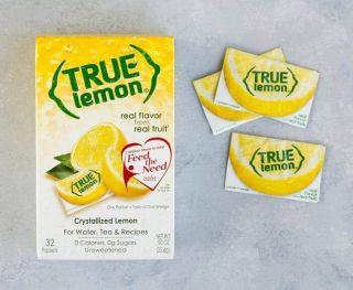 TRUE LEMON CRYSTALLIZED LEMON FLAVOUR SINGLE PACK