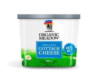 ORGANIC MEADOW 2% ORGANIC COTTAGE CHEESE