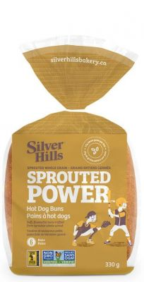 SILVER HILLS SPROUTED POWER HOT DOG BUNS