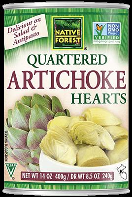 NATIVE FOREST QUARTERED ARTICHOKE HEARTS